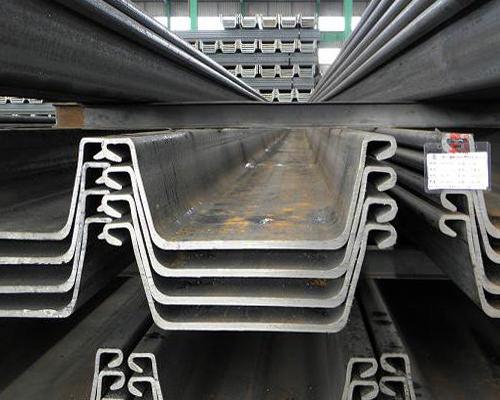 Larsen steel sheet pile to the long welding requirements
