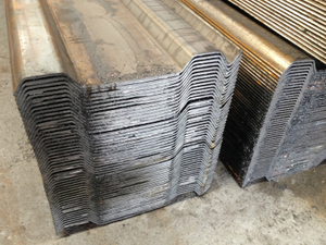 Trench Steel Sheet Piles
